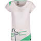 La Sportiva Shortener t-shirt Dames wit